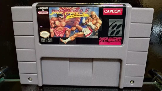 Fita / Cartucho Street Fighter 2 Turbo Super Nintendo Snes