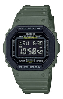 Relógio Casio G-shock Verde Dw-5610su-3dr + Nfe Garantia