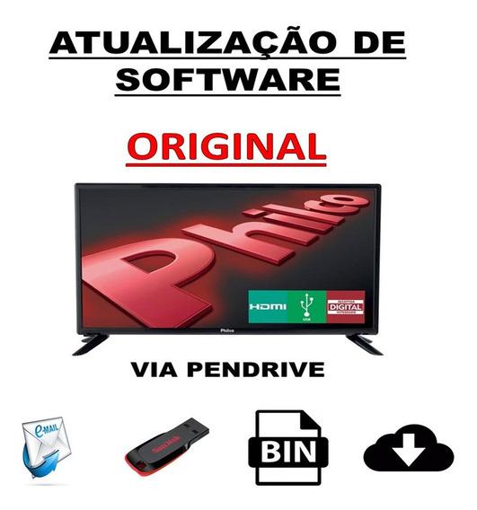 Atualização Software Firmware Tv Philco Ph32u20dg
