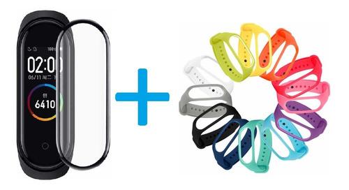 Manilla Pulso Correa Xiaomi Mi Band 4 - 3 + Vidrio Ceramico