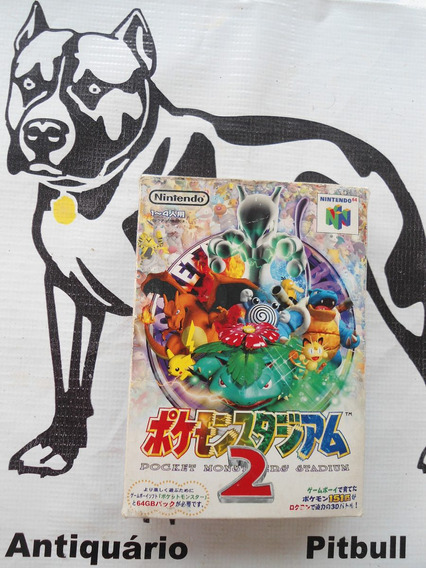 Pokemon Stadium 2 Nintendo 64 Na Caixa