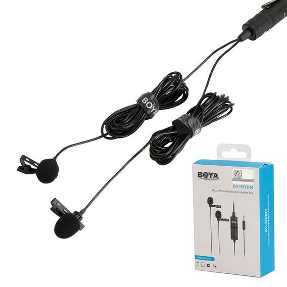 Microfone Lapela Para Cameras E Smartphones - Boya By-m1dm