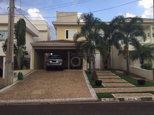 Casa Residencial À Venda, Condomínio Campos Do Conde, Paulínia - Ca2124. - Ca2124
