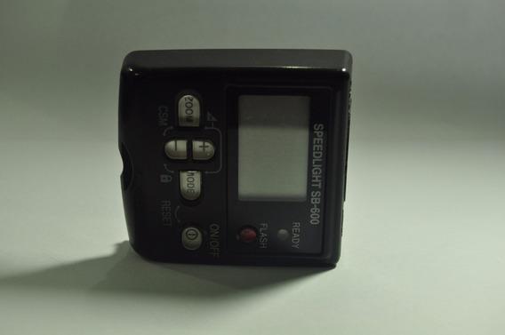 Flash Nikon Sb 600 Display