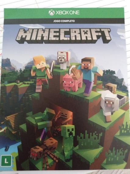Jogo Minecraft Para Xbox One(completo) Mídia Digital