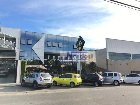Loja Para Alugar Em Bragança Paulista, Taboão, Condomínio Edifício Lake Center - Lo0002