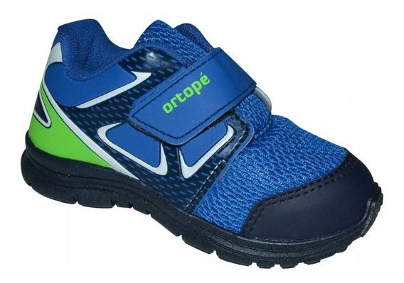 Tenis Ortope Dna Flex 292074 Infantil