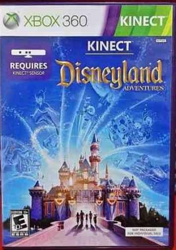 Xbox 360 Kinect Disneyland