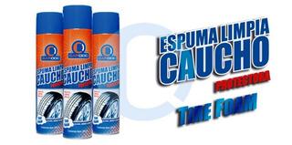 Limpia Neumaticos Caucho Protector Cardoc Espuma Foami 650ml