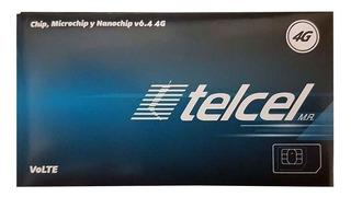 Chip Telcel 4g Lte Cdmx, Lada 55
