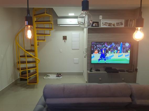 Cobertura Duplex 2 Dormitorios, 1 Suite, Próximo Ao Metrô