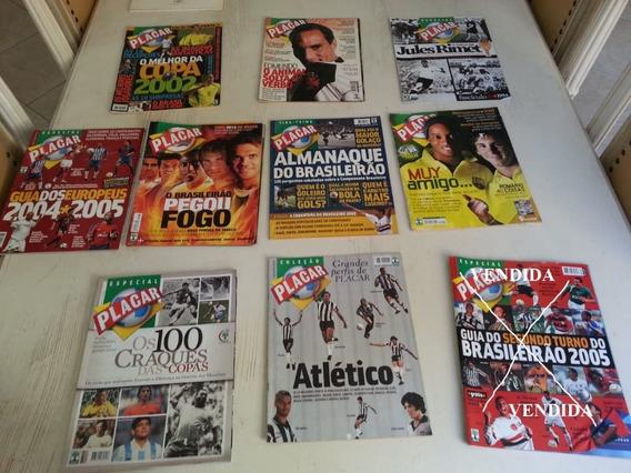 Promoção Coleção Revista Placar - 9 Edições. Leia Descrição