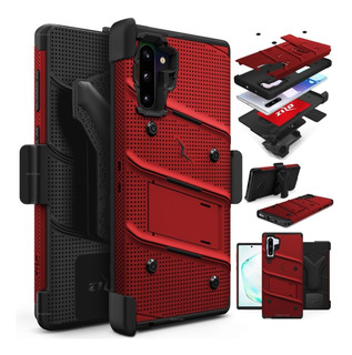 Case Galaxy Note 10+ S10+ Note 9 S9 Plus S8+ C/ Gancho Zizo