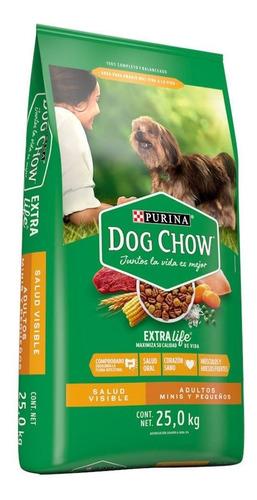 Imagen 1 de 2 de Alimento Para Perro Adulto Dog Chow Raza Mini Y Pequeña 25kg