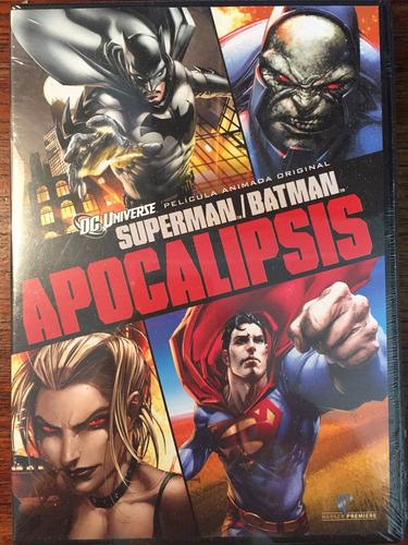 Imagen 1 de 3 de Dvd Superman Batman Apocalipsis / Superman Batman Apocalypse