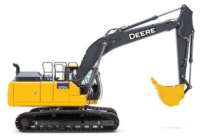 Excavadora 210 G Deere