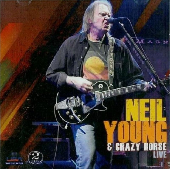 Neil Young & Crazy Horse Live - Cd Duplo Rock