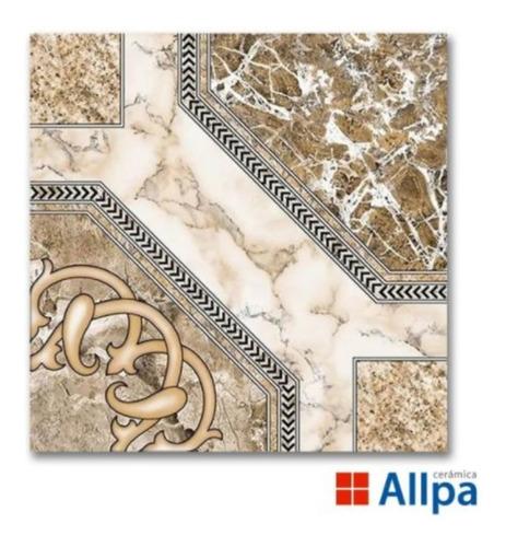 Imagen 1 de 10 de Ceramica Catedral Beige Allpa Alberdi M2 46x46 Marmolada