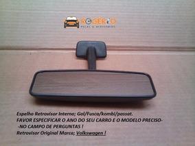 Espelho Retrovisor Interno Gol/fusca/passat Original Preto