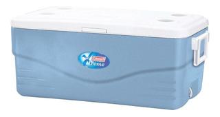 Caixa Térmica Coleman Xtreme Azul 94,7 Litros Cooler Grande