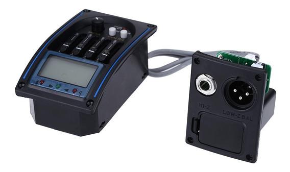 Eqlc-4 4-band Eq Equalizador Sistema Violão Preamp Captador