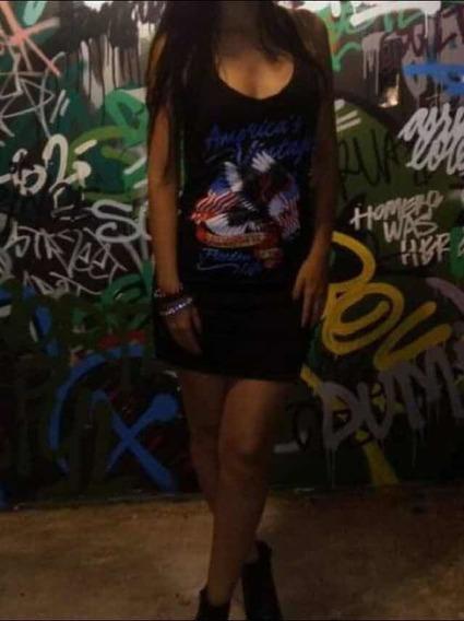 Vestido Preto Rock