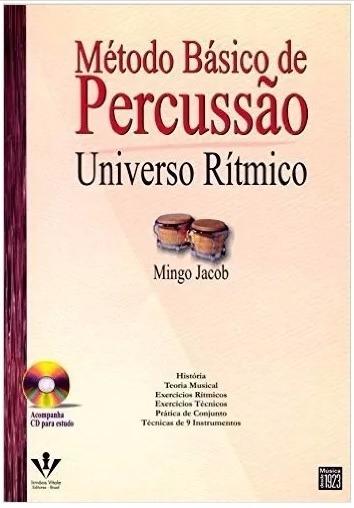 Método Básico De Percussão - (livro + Cd) Pronta Entrega
