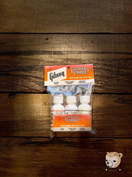 Kit Cuidados Gibson Luthier Choice Triple Pak Ailc 975
