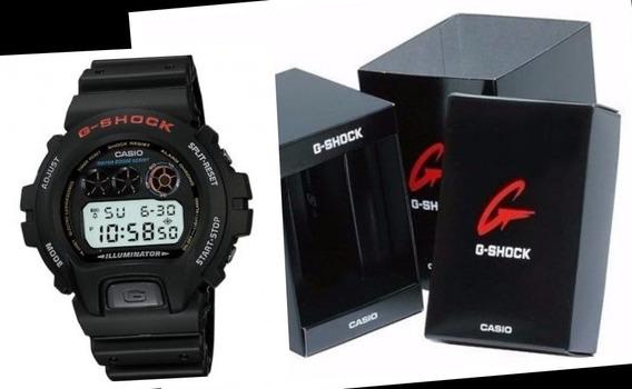 Relógio De Pulso Casio G-shock Clássico Retrô Dw6900-1