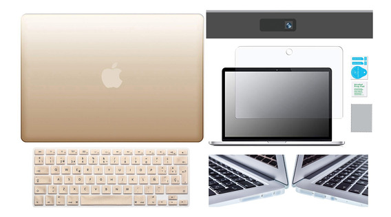 Kit Carcasa Case Premium 5 En 1 Macbook Air Pro Retina Touch
