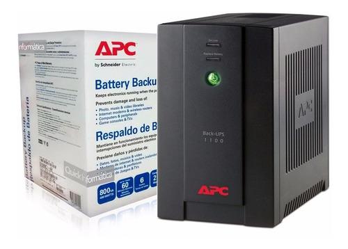 Ups Apc Bx1100ci 1100va C/ Estabilizador P/ Pc Gtia 2 Años B