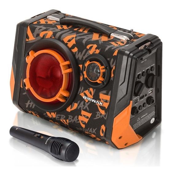 Caixa Som Bluetooth Amplificada Potente Portátil Mp3 Fm Usb