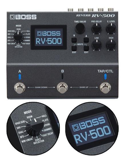 Pedal Reverb Para Guitarra Boss Rv500 Multi Reverb Rv-500