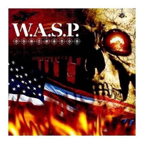 Imagen 1 de 2 de Wasp Dominator Cd Nuevo