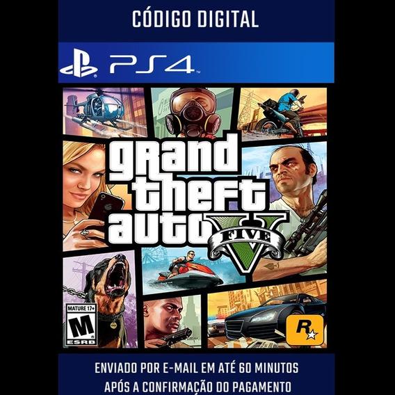 Grand Theft Auto V Ps4 Midia Digital 2