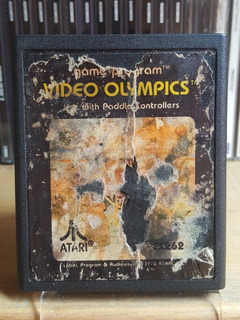 Video Olympics Para Atari 2600 !juego Super Clásico!