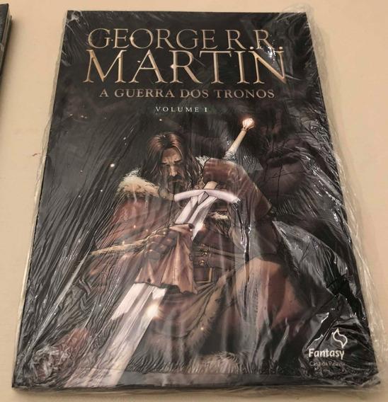 A Guerra Dos Tronos I-hq-george R.r- Martin-quadrinhos-livro
