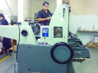 Impresora Offset Solna 125 64.5 X 46 Cm.