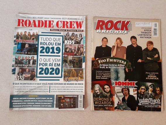 Roadie Crew #251 & Rock Brigade #229 Revistas