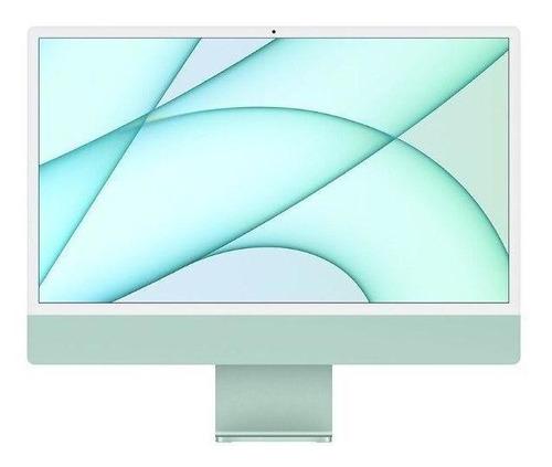 Imagem 1 de 7 de Apple iMac 24  Com Tela Retina 4.5k, Ssd 256gb, 8gb - Verde