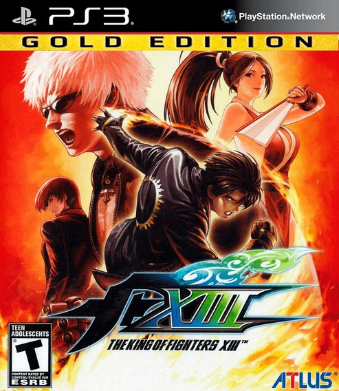 Kof 13 Gold Edition The King Of Fighters + Dlcs - Jogos Ps3