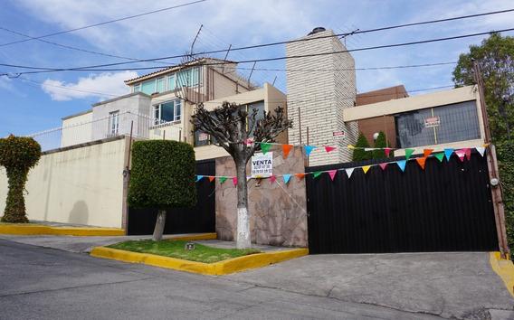 Casa En Venta En Satelite, Misioneros, 3 Rec., 3b., Jardin