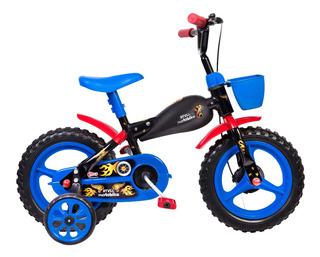 Bicicletinha Bicicleta Infantil Aro 12 Moto Bike - Envio 24h