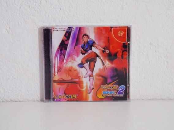 Capcom Vs Snk 2 Dreamcast Paralelo