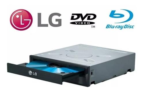 Imagen 1 de 6 de Quemadora Lectora Blu-ray Dvd Interno Sata Pc LG Bh14ns40 3d