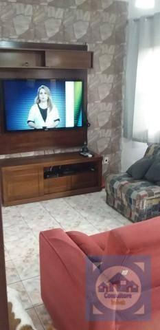 Casa Com 2 Dormitórios À Venda, 67 M² Por R$ 345.000,00 - Vila Valença - São Vicente/sp - Ca1103