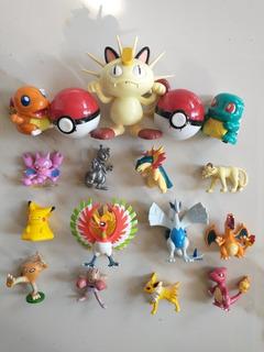 Gran Lote Pokémon Tomy X18 (shiny+pokeball)