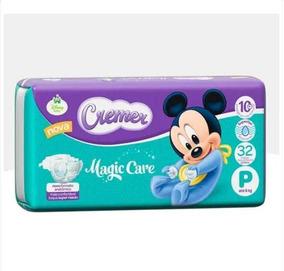 Fralda Descartável Cremer Disney Pequena / Pacote Com 32u