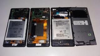 3 Celulares Sucatas Sony Xperia M4 Aqua #2722