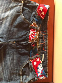 Jeans Mujer Desigual Talla 40 Impecable